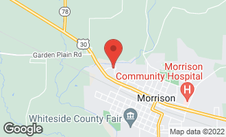 Map of 707 Deerview Lane #23 MORRISON, IL 61270