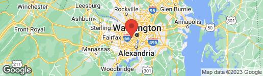 Map of 707 IVY STREET N ARLINGTON, VA 22201