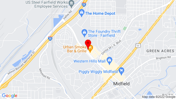 Google Map of 7070 Aaron Aronov Dr, Fairfield, AL 35064