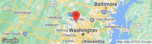 Map of 708 MONTGOMERY AVENUE W ROCKVILLE, MD 20850