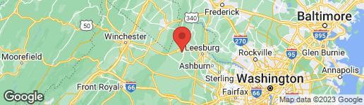 Map of 708 STURBRIDGE COURT PURCELLVILLE, VA 20132