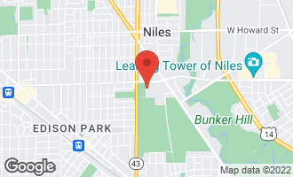Map of 7081 West Touhy Avenue #402 NILES, IL 60714