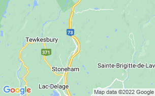 Map of Camping Stoneham