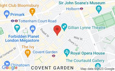 Map of Garden Studios