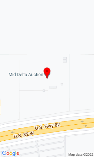 Google Map of Mid Delta Auctions 71001 hwy 82 west, Greenwood, MS, 38390