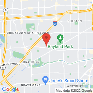 Houston Baptist University Police Jail location on map