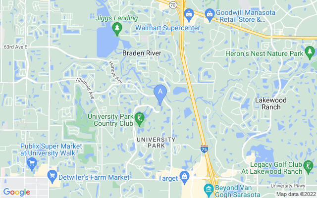 7105 Kensington Ct University Park Florida 34201 locatior map