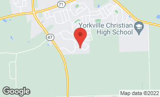 Map of 712 Kentshire Drive YORKVILLE, IL 60560