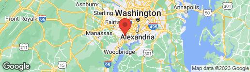 Map of 7121 LAMAR DRIVE SPRINGFIELD, VA 22150