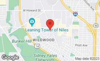 Map of 7121 North Mason Avenue CHICAGO, IL 60646