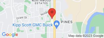 Google Map of 7130+-+50+Avenue%2CRed+Deer%2CAlberta+T4P+6A5