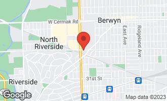 Map of 7132-36 West 26th. Street BERWYN, IL 60402