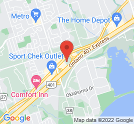 Google Map of 715+Kingston+Road%2CPickering%2COntario+L1V+1A9