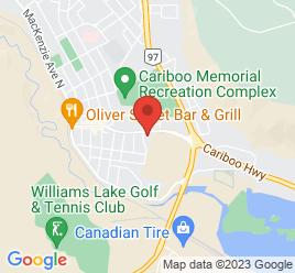 Google Map of 715+Oliver+St%2CWilliams+Lake%2CBritish+Columbia+V2G+1M9