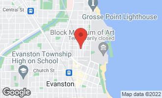 Map of 715 Foster Street EVANSTON, IL 60201