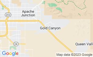 Map of Gold Canyon RV & Golf Resort