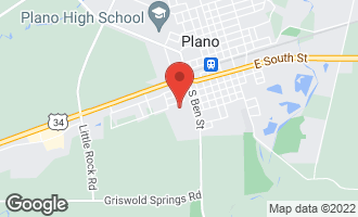Map of 716 West Charles Street PLANO, IL 60545
