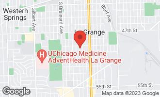 Map of 717 South Catherine Avenue LA GRANGE, IL 60525