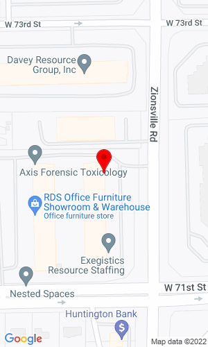 Google Map of Gallivan Auctioneers & Appraisers 7170 Zionville Rd, Indianapolis, IN, 46268