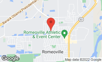 Map of 719 Rogers Road ROMEOVILLE, IL 60446