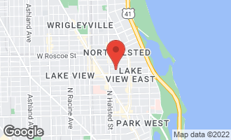 Map of 719 West Melrose Street B CHICAGO, IL 60657