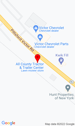 Google Map of The Trailer Center 7199 Victor Pittsford Rd., Victor, NY, 14564