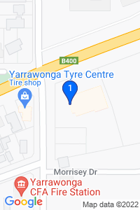 Google Map of 72 woods road yarrawonga