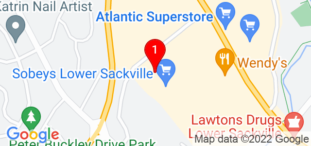 Google Map of 720 Sackville Dr, Lower Sackville, NS, Canada
