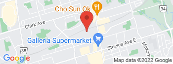 Google Map of 7200+Yonge+Street%2CThornhill%2COntario+L4J+1V8
