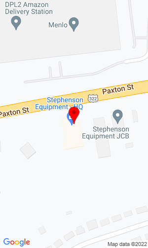 Google Map of Stephenson Equipment, Inc. 7201 Paxton Street, Harrisburg, PA, 17111