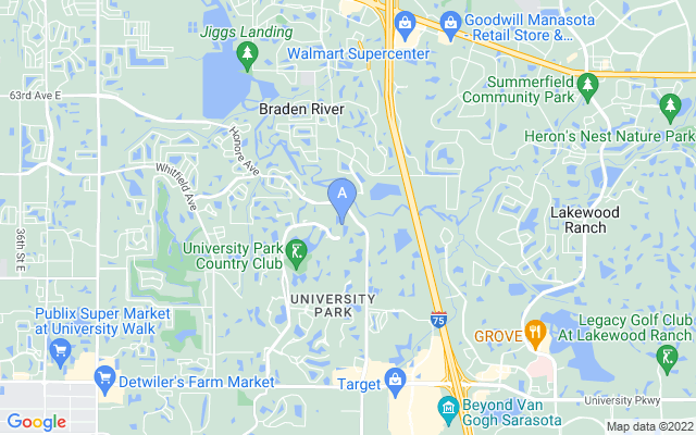 7207 Kensington Ct University Park Florida 34201 locatior map