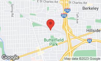 Map of 721 Benton Street ELMHURST, IL 60126