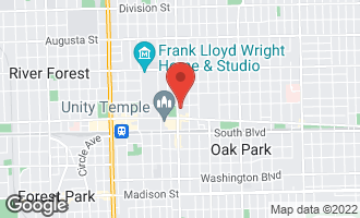 Map of 721 Ontario Street #106 OAK PARK, IL 60302