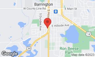 Map of 721 Skyline Drive BARRINGTON, IL 60010