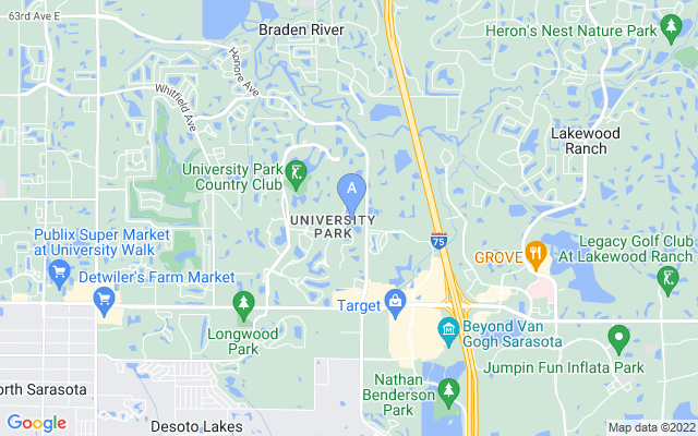 7215 Marlow Pl University Park Florida 34201 locatior map