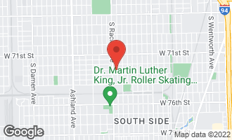 Map of 7238 South May Street CHICAGO, IL 60621