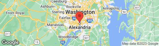 Map of 724 COLUMBUS STREET N ALEXANDRIA, VA 22314