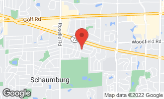 Map of 725 Ash Road HOFFMAN ESTATES, IL 60169