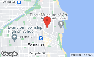 Map of 725 Emerson Street 2W EVANSTON, IL 60201