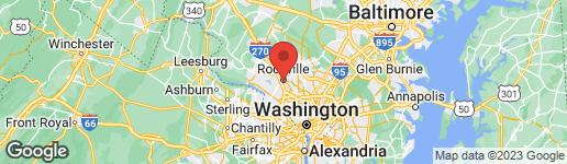 Map of 725 HARRINGTON ROAD ROCKVILLE, MD 20852