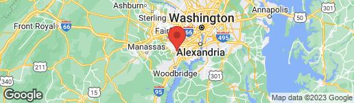 Map of 7253 LINDEN TREE LANE SPRINGFIELD, VA 22152