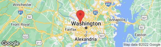 Map of 7255 MACARTHUR BOULEVARD BETHESDA, MD 20816