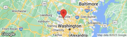 Map of 726 AZALEA DRIVE #10 ROCKVILLE, MD 20850