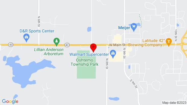 Google Map of 7265 W. Main St., Kalamazoo, MI 49009
