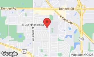 Map of 728 East Juniper Drive PALATINE, IL 60074