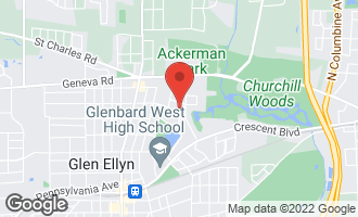 Map of 728 Grand Avenue GLEN ELLYN, IL 60137