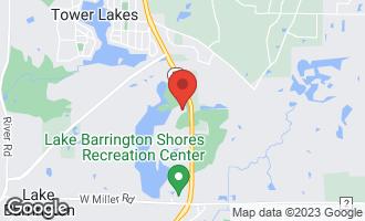 Map of 729 North Old Barn Road B LAKE BARRINGTON, IL 60010