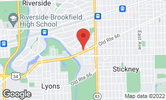 Map of 7294 Ogden Avenue C RIVERSIDE, IL 60546