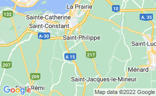 Map of Camping Saint-André