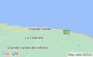Map of Camping Au Soleil Couchant